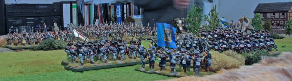 Some Napoleonic game shots (4/6)
