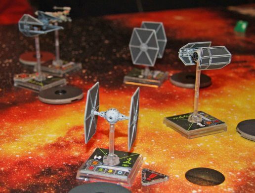 X-Wing Imperial fighters