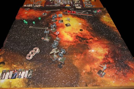 X-Wing mid-game positions
