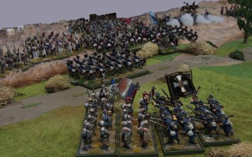 Landwehr vs. French Infantry