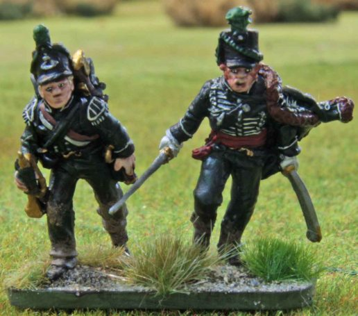 95th Rifles (officer and bugler)
