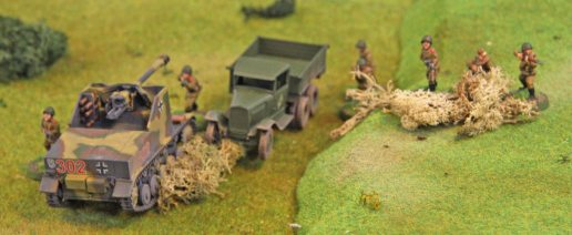 Marder overrunning Soviet infantry