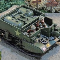 British Universal Carriers (Analogue Hobbies Painting Challenge entry #9)