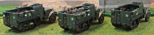 M5 Halftrack (group shot - rear)