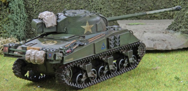 Sherman Firefly (Troop 1, Tank c , rear)