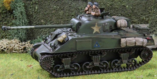 Sherman Firefly (Troop 2, Tank c , front)