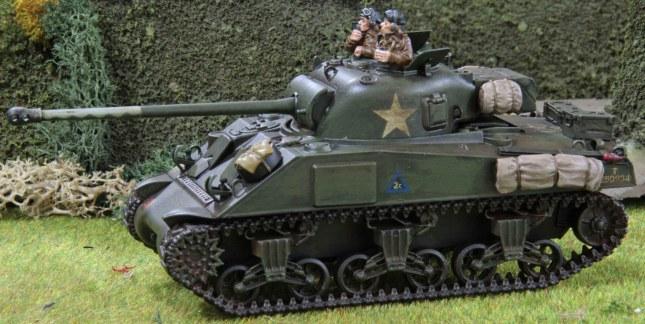 Sherman Firefly (Troop 2, Tank c , front)