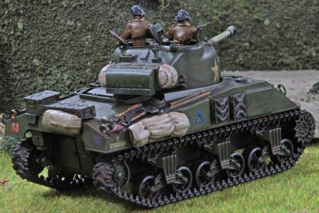 Sherman Firefly (Troop 2, Tank c , rear)