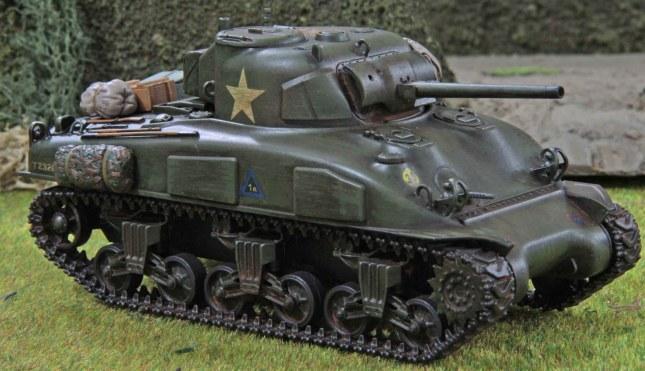 Sherman (Troop 1, Tank a , front)