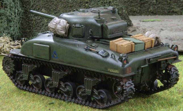 Sherman (Troop 1, Tank a , rear)