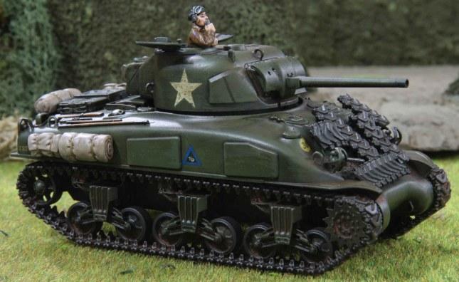Sherman (Troop 1, Tank b , front)