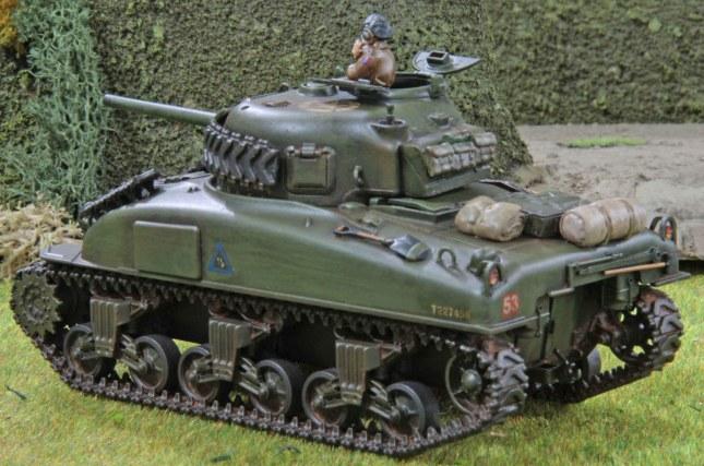 Sherman (Troop 1, Tank b , rear)