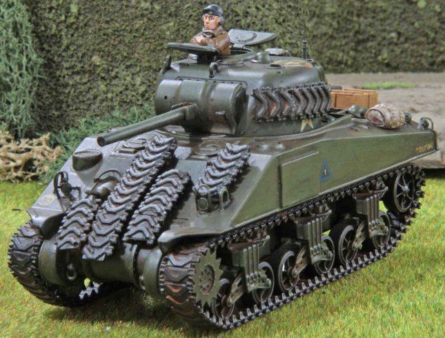 Sherman (Troop 1, Troop leader , front)
