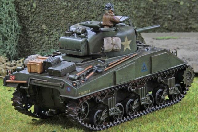 Sherman (Troop 1, Troop leader , rear)