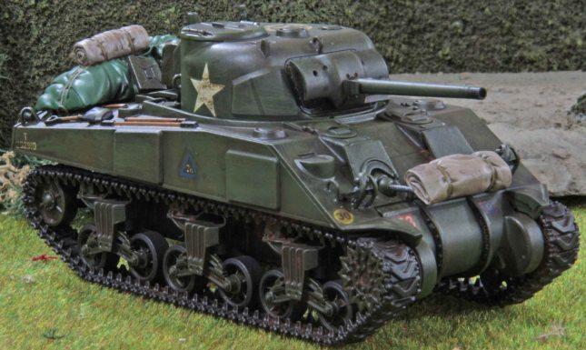 Sherman (Troop 2, Tank a , front)