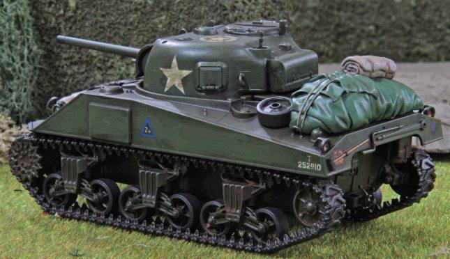 Sherman (Troop 2, Tank a , rear)