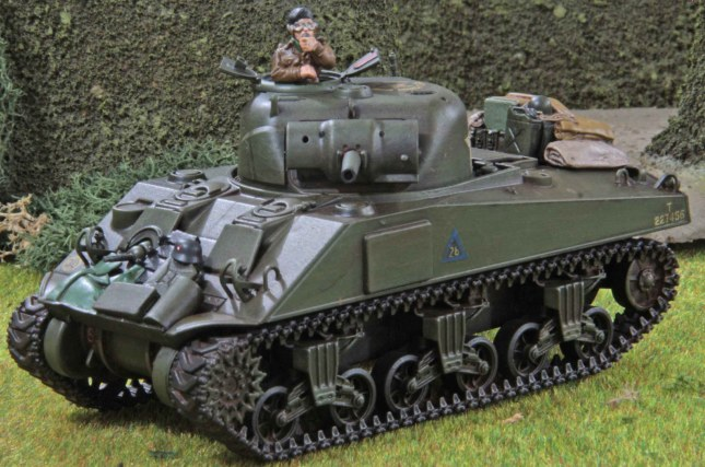 Sherman (Troop 2, Tank b , front)