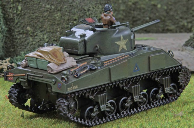 Sherman (Troop 2, Tank b , rear)