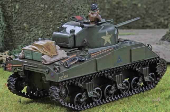 Sherman (Troop 2, Tank b , rear)