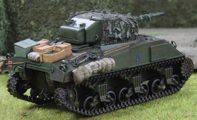 Sherman (Troop 2, Troop leader , rear)