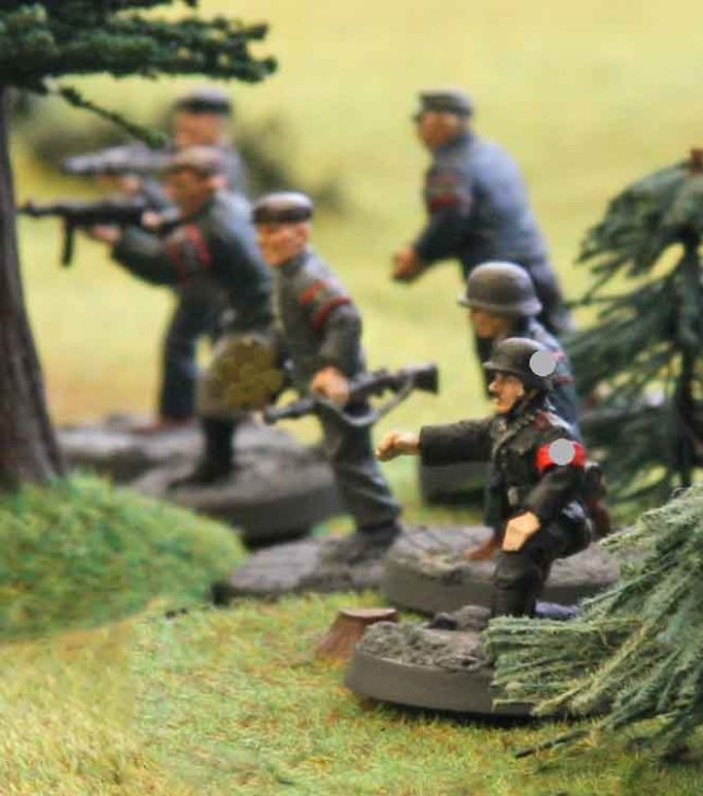 Advance of the mighty Volkssturm