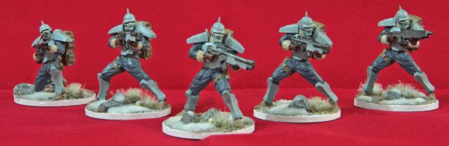 Bauhaus Hussars (1st Squad)