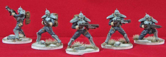 Bauhaus Hussars (2nd Squad)
