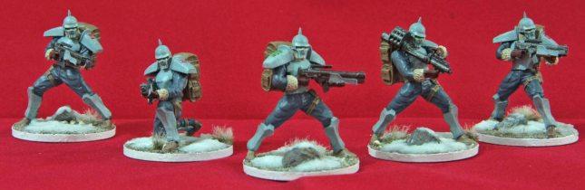 Bauhaus Hussars (3rd Squad)