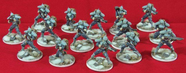 Bauhaus Hussars (all 3 Squads)