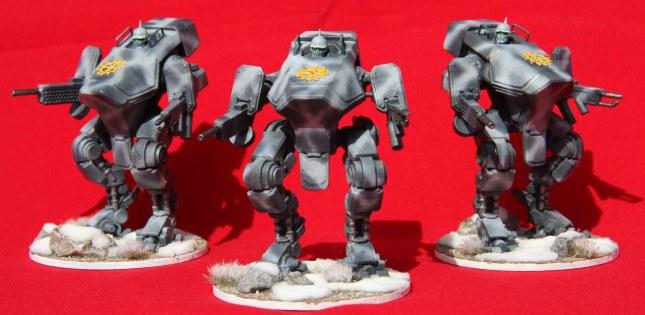 Bauhaus Vulkan suits (group shot)