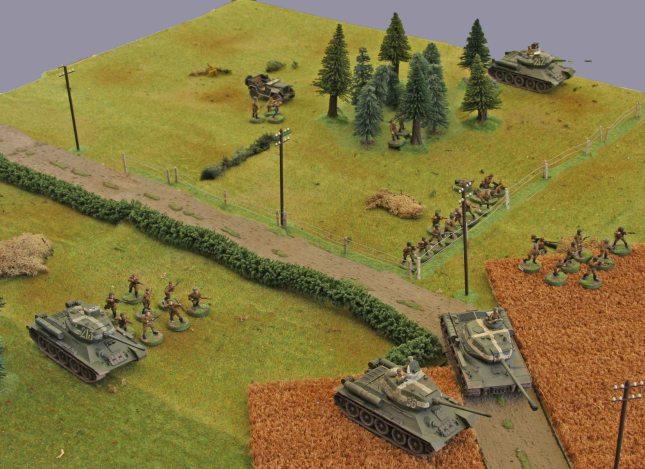 Russian advance