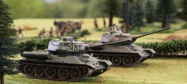 T34´s on the roll