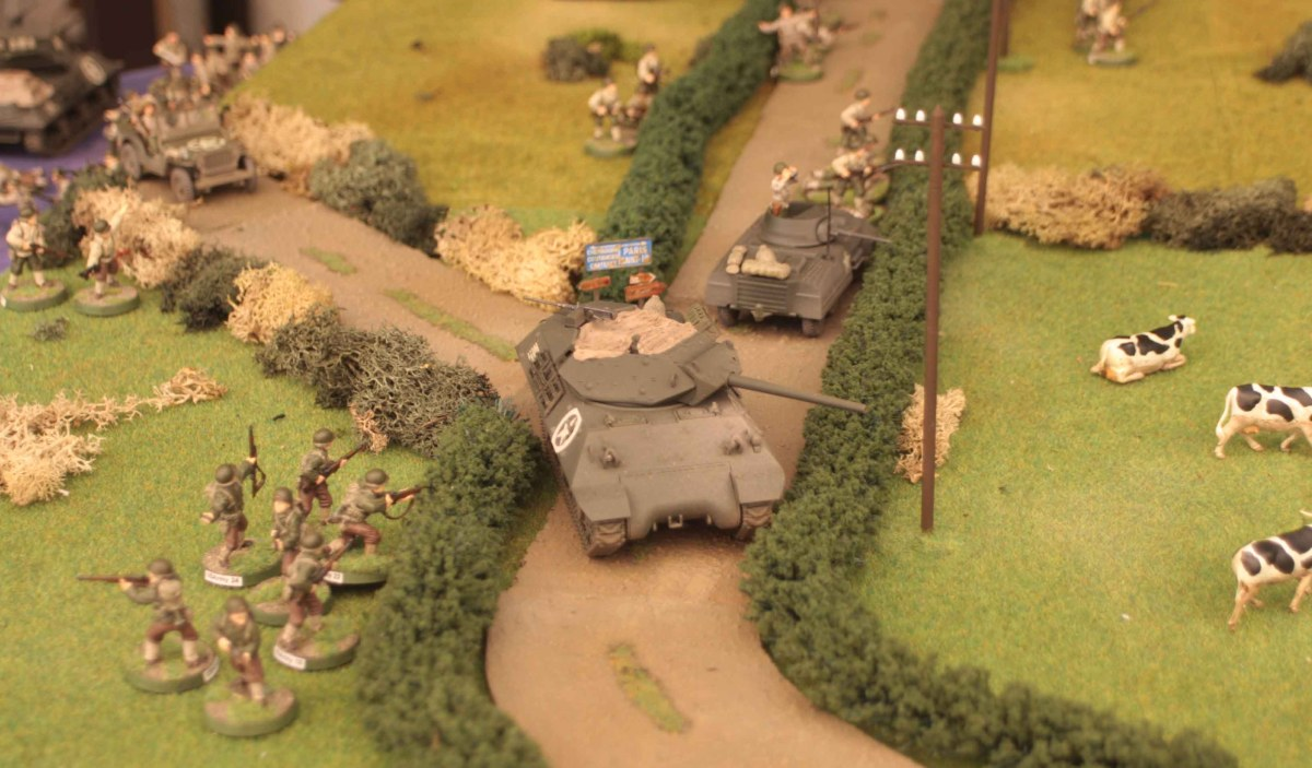 Two games of Battlegroup Overlord (part 2)