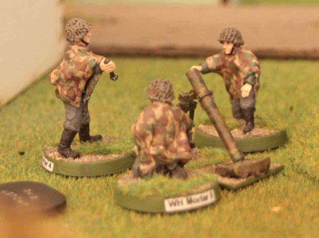 German on-board mortars