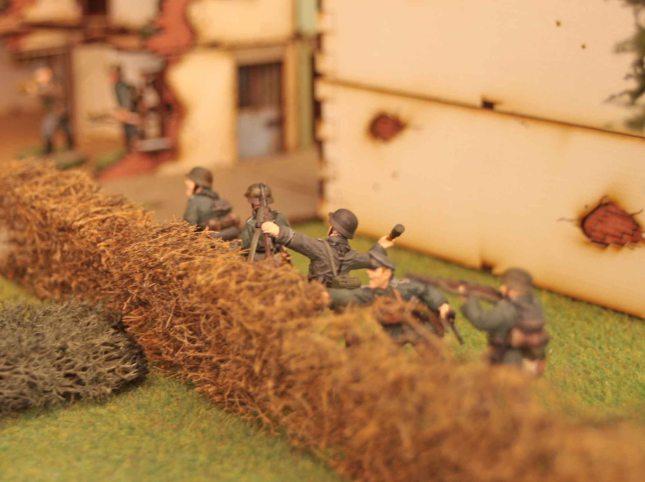 German Platoon HQ