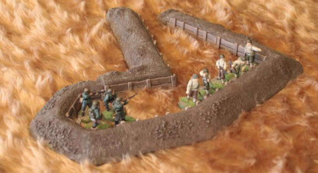 Storming the trench