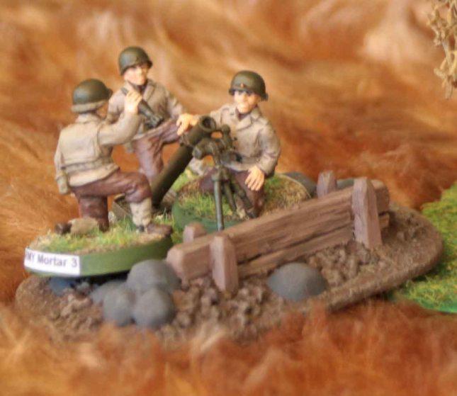 US Mortar team