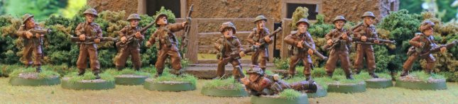 British Infantry (the extras)