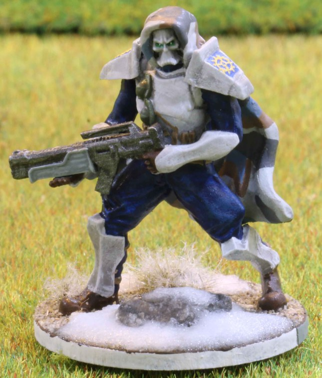 Venusian Ranger Blue Squad Leader