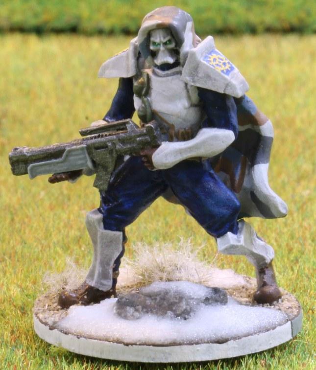 Venusian Ranger Blue Squad Leader