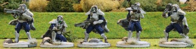 Venusian Ranger Blue Squad