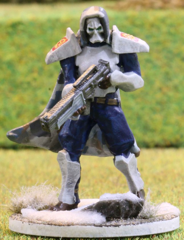 Venusian Ranger Red Squad Leader