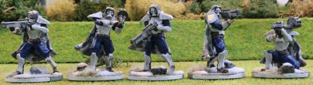 Venusian Ranger Red Squad