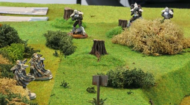 Venusian Ranger vs. Hussars