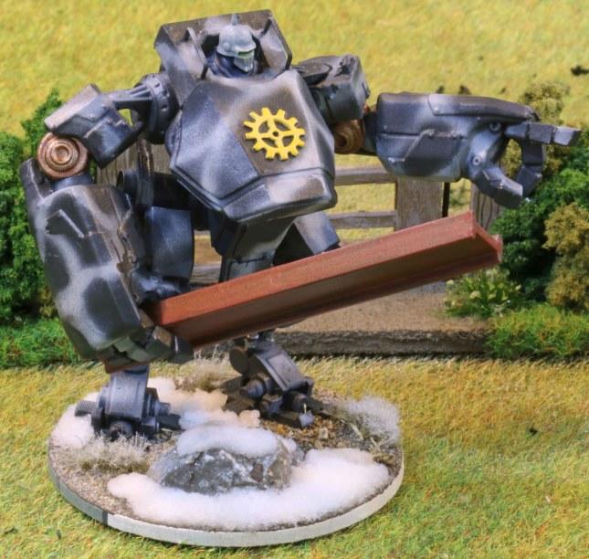 Bauhaus close combat Vulkan suit (squad leader)
