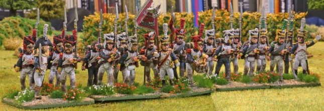 Duchy of Warsaw 3rd Line Infantry, 1st Battalion (Voltigeurs)