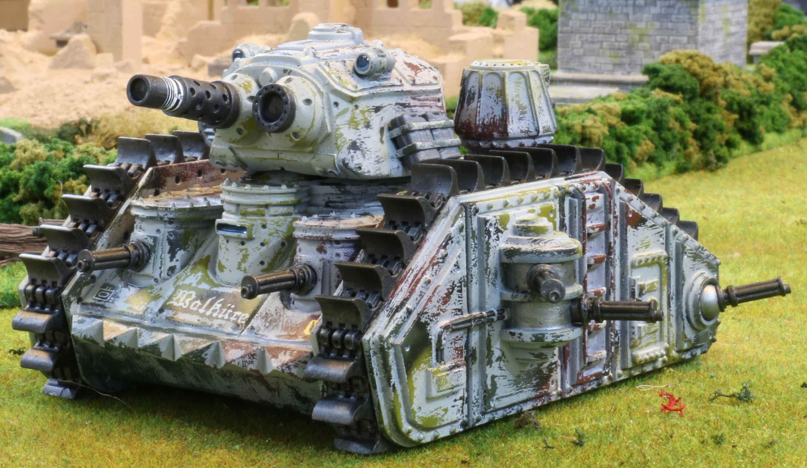 Bauhaus gbt 49 grizzly tank dhcwargamesblog - Deco kamer truc ...