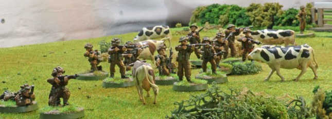 Holy cow... the British are advancing