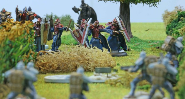 Sacred Warriors advancing