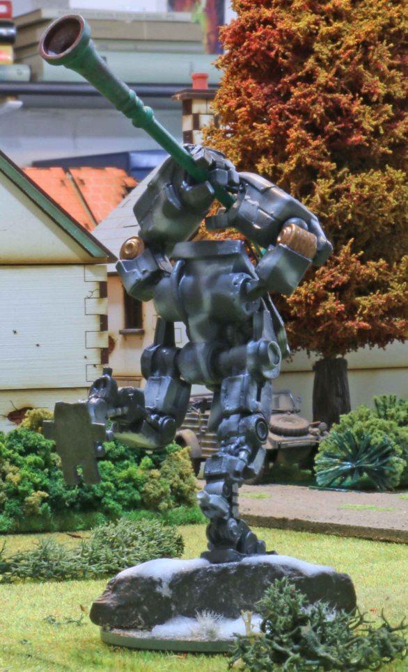 Bauhaus close combat Vulkan suit